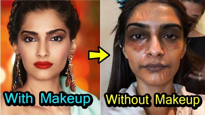 20 Shocking Looks Of Bollywood Actress Without Makeup - Youtube pertaining to Bollywood Actress Without Makeup Images