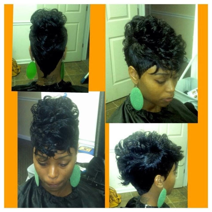 27Pc Mohawk   Hair   Hair Styles, Mohawk Hairstyles, Quick Weave inside What Is The Best Weave To Use For Mohawk Style