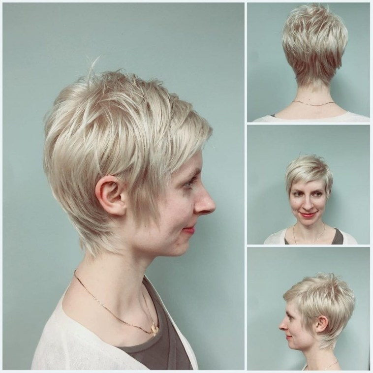 39 Flattering Hairstyles For Thinning Hair (Popular For 2019) throughout Short Haircuts For Women With Hair Loss