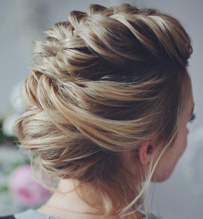 50 Hottest Prom Hairstyles For Short Hair regarding Easy Hairdo For Middle School Dance