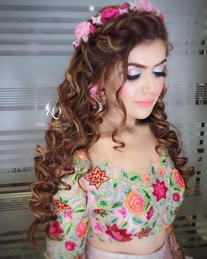 Choose The Perfect South Indian Bridal Hairstyle For Engagement That throughout Hair Style Of Bridal Indian