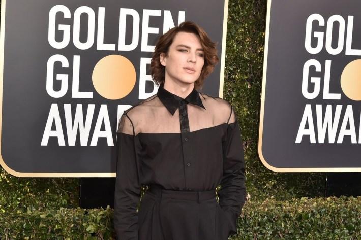 Golden Globes Style: Cody Fern And Billy Porter Challenged Gender for Very Feminine Clothing For Men