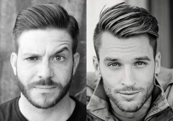 Hairstyles For Men : Cool Widows Peak Cuts Widow Long Popular Side throughout Mens Widows Peak Haircut
