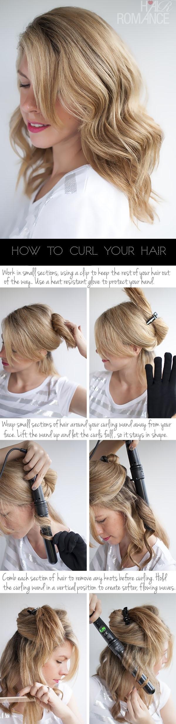 how to create cute wavy hairstyles - wavy haircut