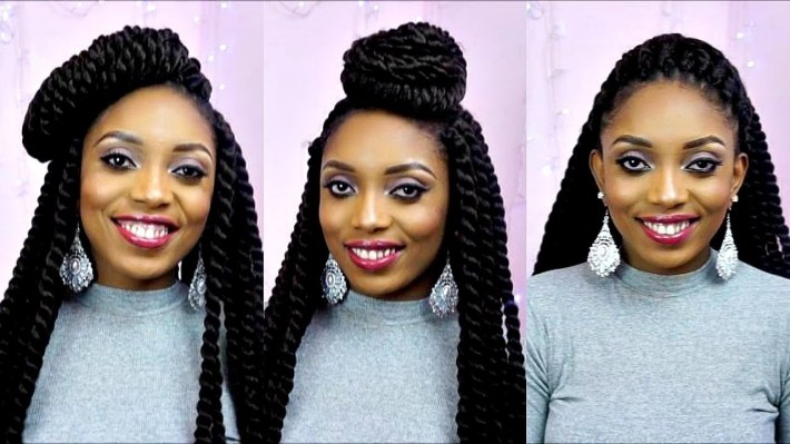 How To Style Havana Mambo Twist 14 Unique Styles Tutorial - Youtube with regard to Mambo Twist Hair Styles