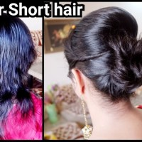 Indian Hairstyle For Karwa Chauth