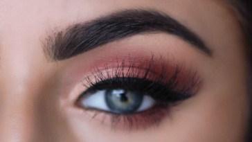 Make Blue/green Eyes Pop! Copper Tutorial | Sayehsharelo - Youtube in Makeup For Blue Green Eyes