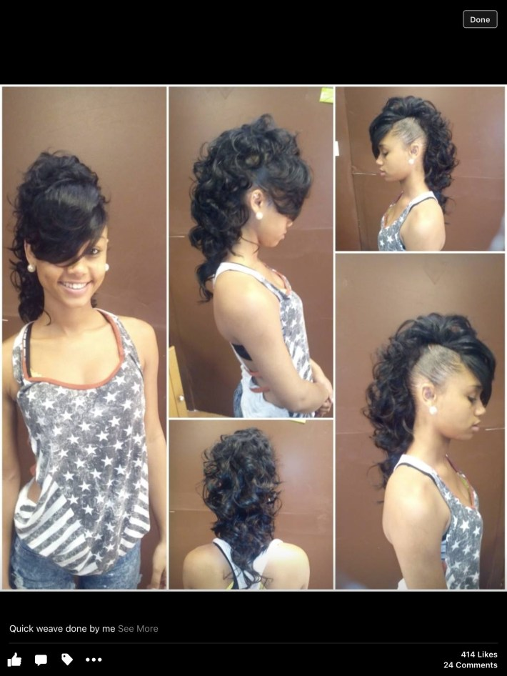 Mohawk Creative Style Weave   My Work   Hair Styles, Long Hair with What Is The Best Weave To Use For Mohawk Style
