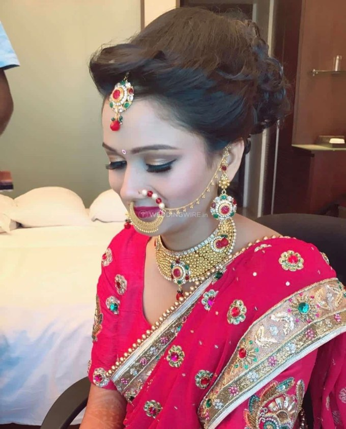 north indian bridal makeup pictures - wavy haircut