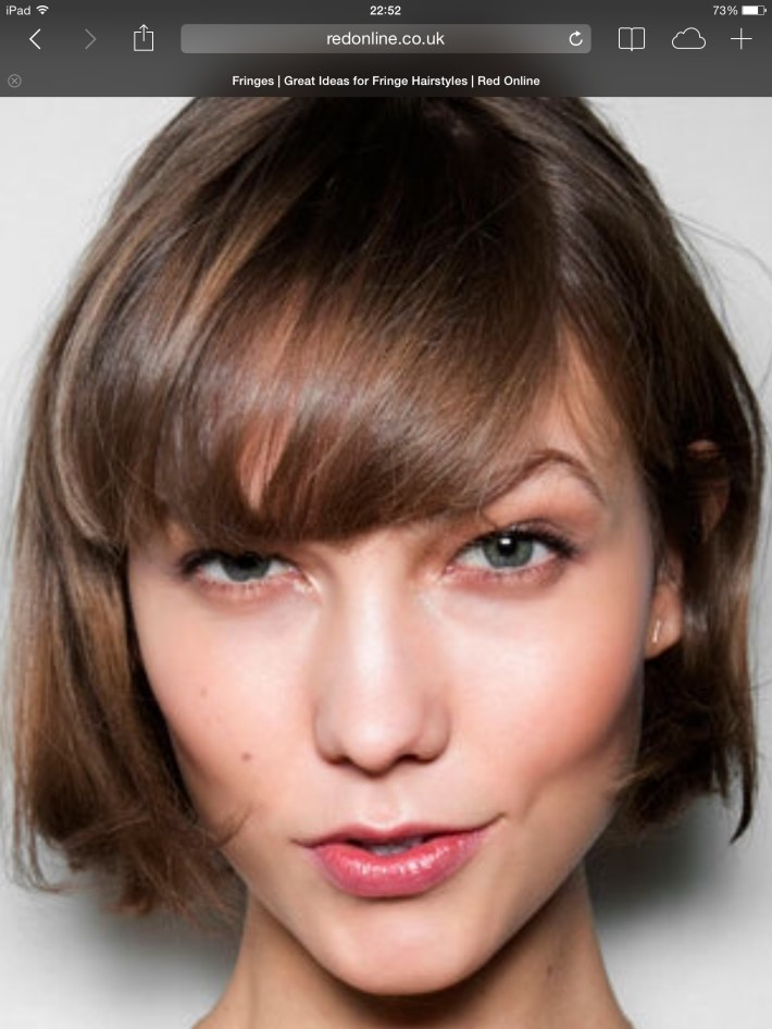 Pin By Lacy Omsberg On Cute Hair In 2019 | Hair Cuts, Hair Styles for Hair How To Style A Flipped Fringe