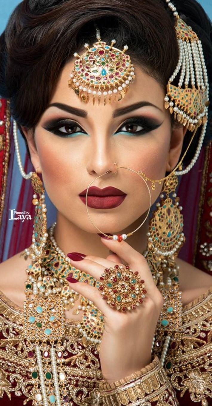 Pin By Parm Mann On Bridal | Asian Bridal Makeup, Indian Bridal in Bridal Makeup Pics Facebook