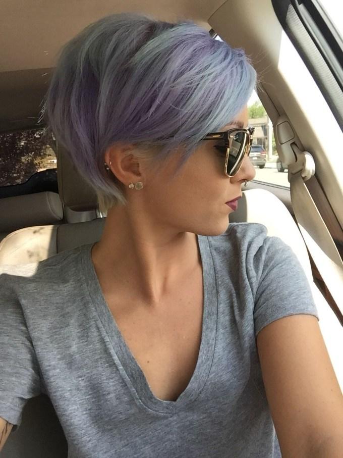 short grey hair bitches - wavy haircut