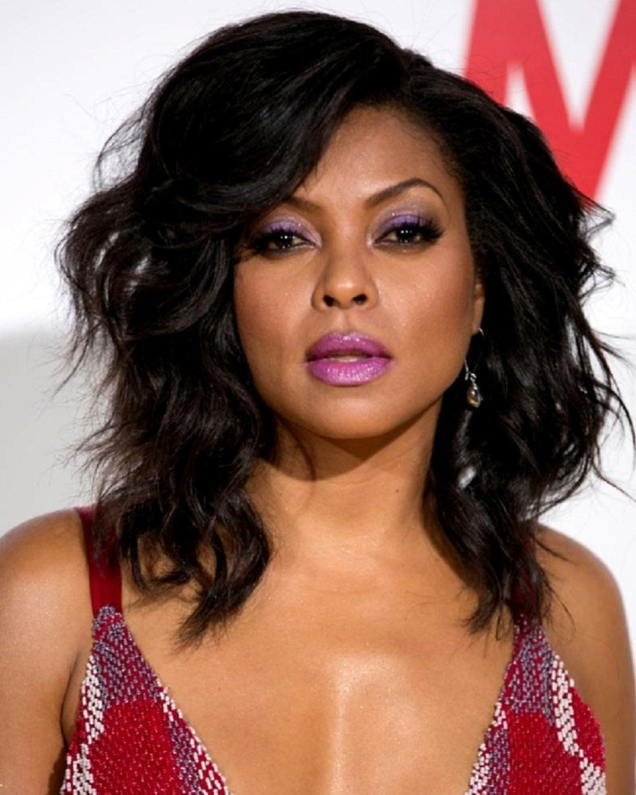 Taraji P. Henson - Bob Cut - Custom Celebrity Lace Wig In 2019 for Taraji P Henson Bob Cut