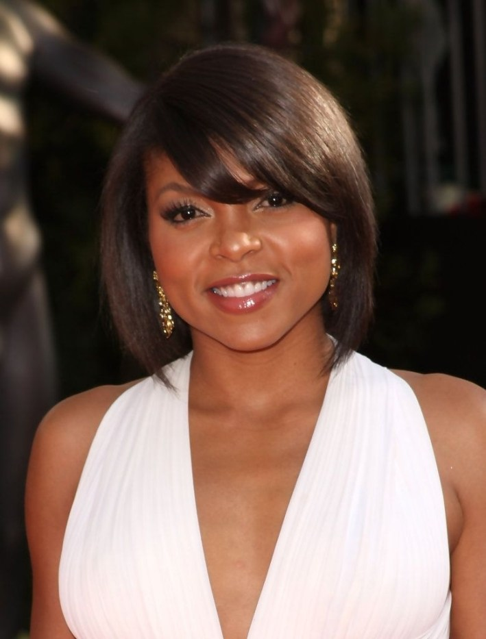 Taraji P. Henson Bob In 2019 | Beautiful Black Women | Hair Styles regarding Taraji P Henson Bob Cut