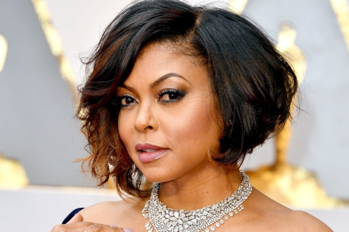 Taraji P. Henson Gets Blunt Bob With Bangs Haircut: See Pics | Lookbook regarding Taraji P Henson Bob Cut