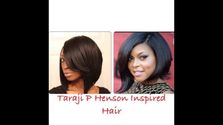 Taraji P Henson Inspired Bob Hair - Youtube with Taraji P Henson Bob Cut