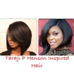 Taraji P Henson Inspired Bob Hair - Youtube with Taraji P Henson Bob Cut