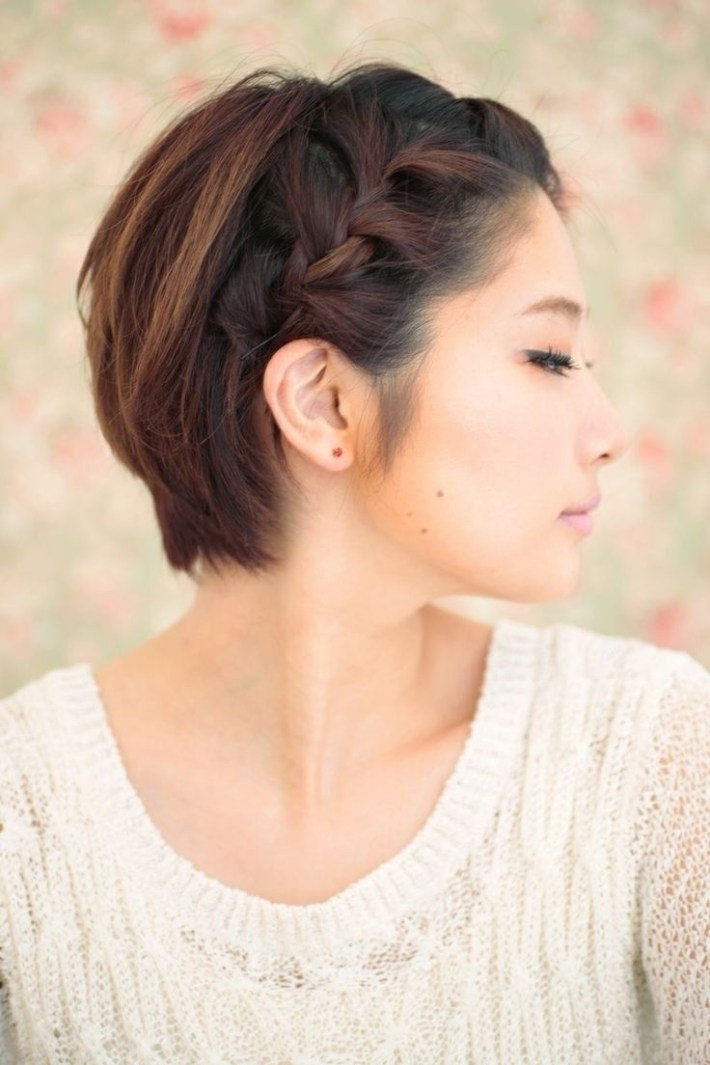 10 Braided Hairstyles For Short Hair | Hair & Beauty | Short Braids with Short Bob Hairstyles For Asian Hair