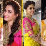 5 Best Hairstyles When You Are Dressed In A Silk Saree!! throughout Best Indian Hairstyles For Saree