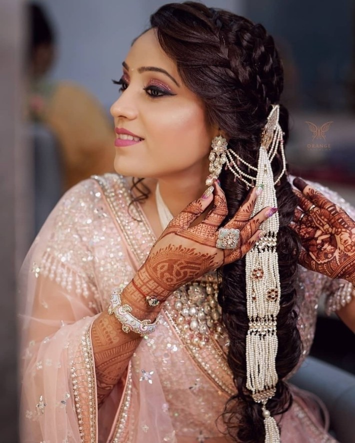 8 South Indian Wedding Hairstyles For Long Hair Which Highlight Your inside Bridal Hairstyles For Long Hair South Indian