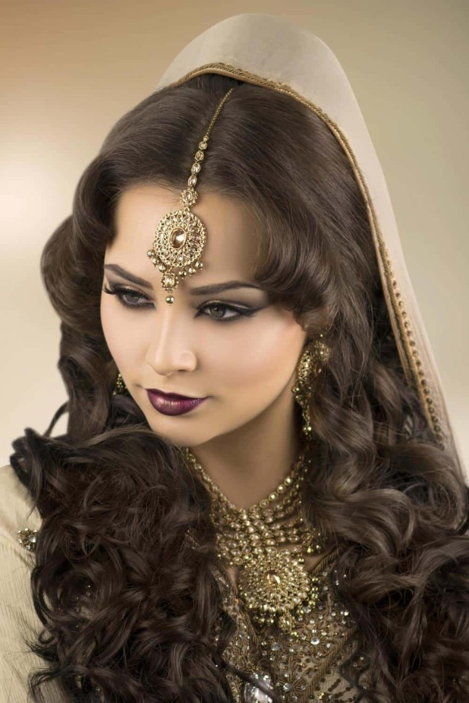Asian Bridal Makeup Courses & Hair Courses - London - Indian / Pakistani within Latest Asian Bridal Hairstyles