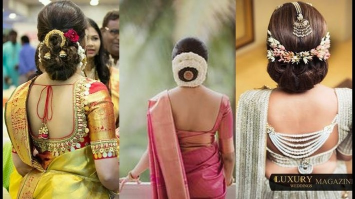 Bridal Hairstyles For Long Hair South Indian Pictures Wedding Video in Bridal Hairstyles For Long Hair South Indian