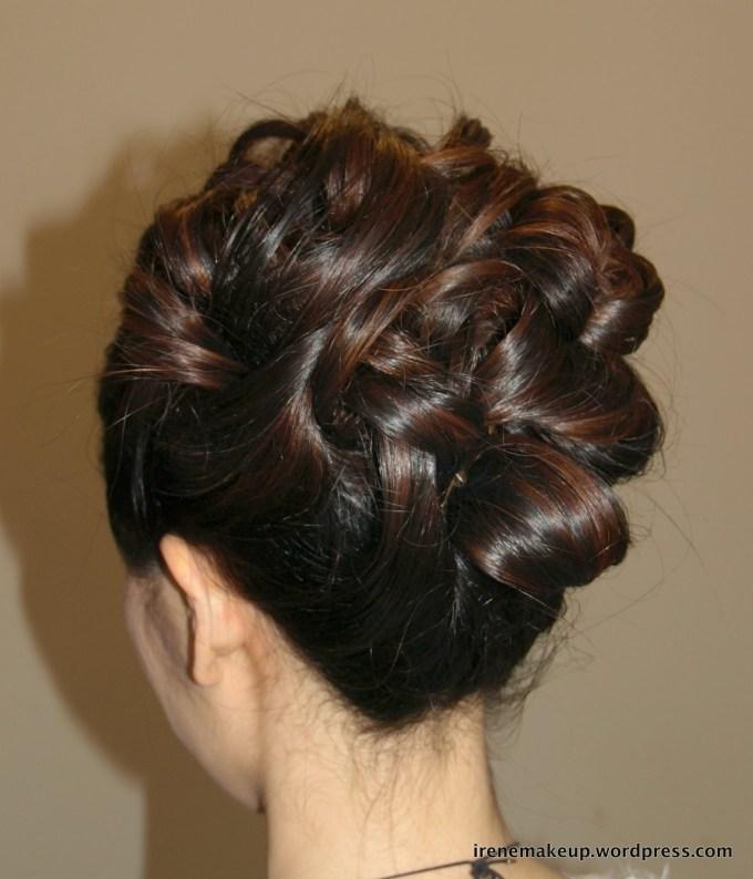 Chinese Bridal Hairstyles- Classic Sleek Updo 新娘盘头发型   伦敦 regarding Very best Asian Wedding Hairstyles For Long Hair