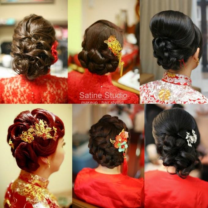 Chinese Wedding Hairstyles Satinestudio Bridal Updo, Toronto regarding Very best Asian Wedding Hairstyles For Long Hair