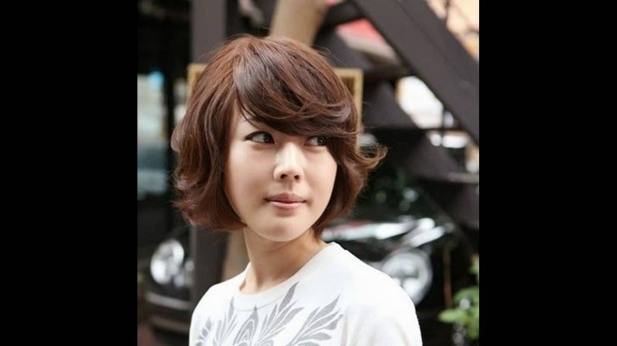 ☆ How I Curl My Short Hair Korean Short Curly Haircut ☆ Style throughout Asian Short Wavy Hairstyles