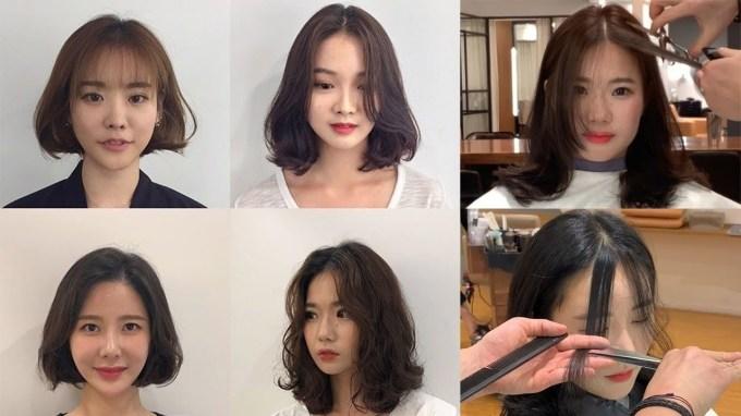Easy Cute Korean Haircuts 2019 ? How To Cut Bangs ? Hair Beauty inside The greatest Cute Korean Hairstyles For Medium Hair