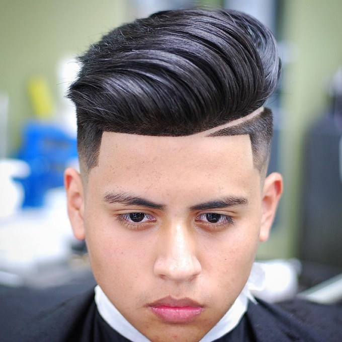 Fade Pompadour Haircuts For Round Face - Menhairdos with regard to Premier Asian Male Hairstyles Round Face