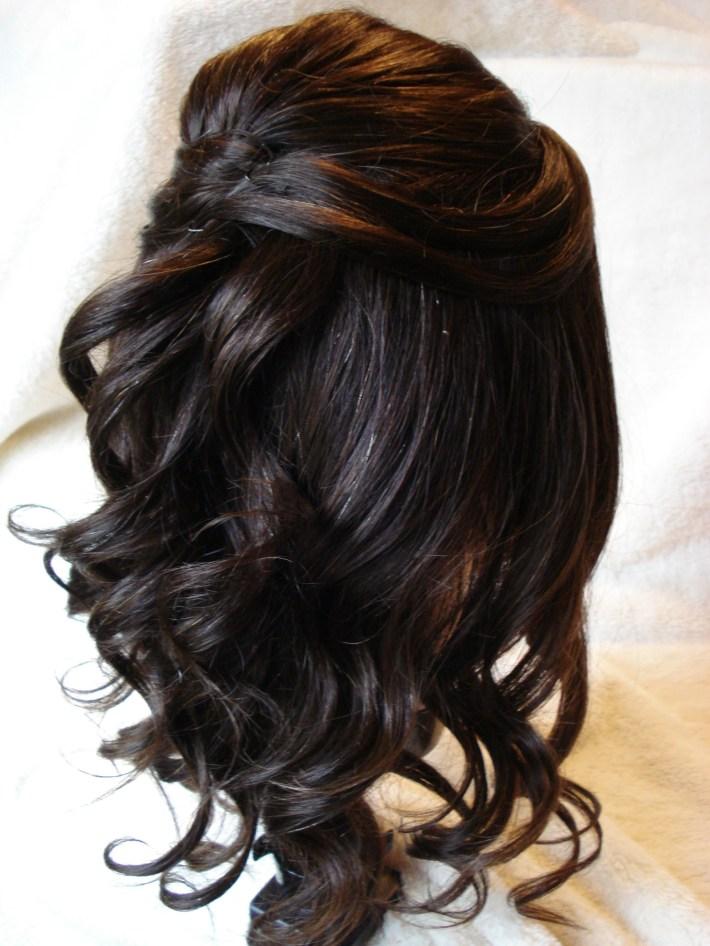 Hairstyles : 30 Halfuphalf Down Wedding Hair Style Hairstyles Design regarding Asian Half Up Hairstyles