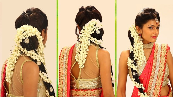 Indian Bridal Hairstyle Step By Step - South Indian Bridal Hair throughout The greatest South Asian Wedding Hairstyles