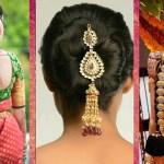 Indian Bridal Hairstyles | Wedding Hairstyles Step By Step | Bridal Bun And  Bridal Plait Hairstyles with regard to Bridal Hairstyle In Indian Style