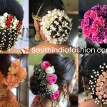Indian Wedding Bun Hairstyle With Flowers And Gajra! | •hair• <3 pertaining to Bun Hairstyle For Indian Wedding With Flower
