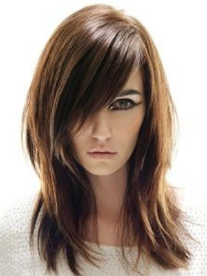 Long Straight Hairstyles Asian Medium Length Layered Hairstyles in The most ideal Asian Layered Hair With Bangs