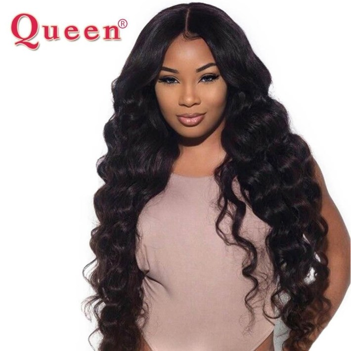 Queen Hair Loose Deep More Wave Brazilian Hair Weave Bundles 100 throughout Classic Indian Weave Hairstyles