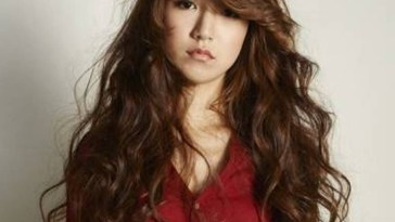 Short Hair Curls Korean Style Asian Long Curly Hairstyles, Big No throughout Top-drawer Asian Long Curly Hairstyles