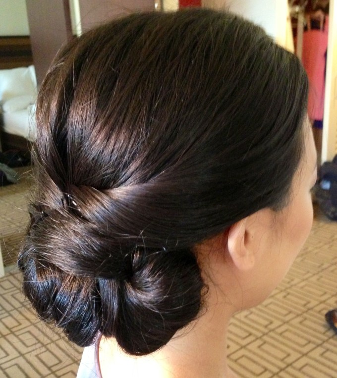 Wedding Updo, Wedding Hair, Updo, Classic Updo, Chignon, Asian with Asian Wedding Updo Hairstyles