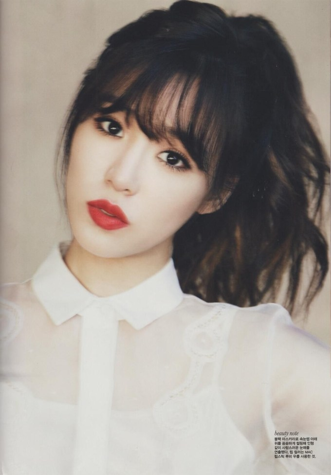 Women Hairstyle : Korean Hairstyle Fringe Outstanding See Through within Asian Short Hairstyles With Bangs