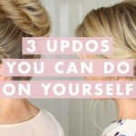 3 Stunning Updos That You Can Do On Yourself! | Hair Tutorial inside How To Do Hairstyles On Yourself