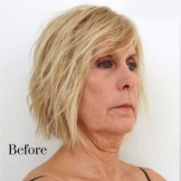 Hairstyles For Sagging Jowls