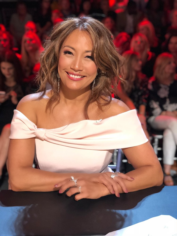 What Color Is Carrie Ann Inaba Hair - Wavy Haircut