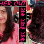 Feather Cut With Layers I Hindi I फेदर हेयार काट कैसे करे (Tutorial)…. intended for Difference Between Feather Haircut Layer Haircut India