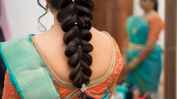 Hair Do | Hair Do | Indian Hairstyles, Indian Wedding with South Indian Hairstyles For Long Hair