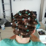 He Will Get Adjusted To Having His Hair Roller Set | Rollers inside Roller Set Hairstyles For Men