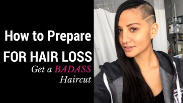 How To Prepare For Chemo Hair Loss - Get A Badass Haircut! inside Best Haircut For Chemo Patients