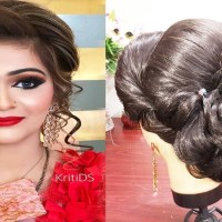 Indian Wedding Hairstyles For Engagement
