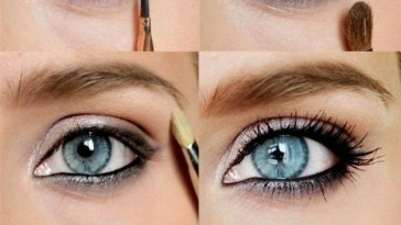 Lovely Makeup Tutorials For Blue Eyes | Makeup | Blue Eye in How To Do Eyeshadow For Blue Eyes