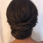 Textured Updo By @shelbywhite_Hmu | Hair, There, Everywhere regarding Wedding Short Burnet Hair Style Updo